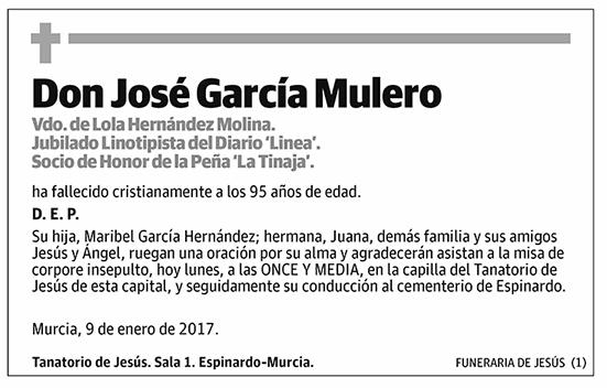 José García Mulero