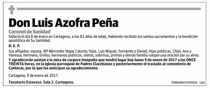Luis Azofra Peña