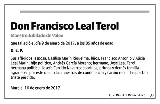Francisco Leal Terol