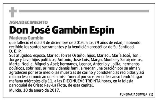 José Gambin Espin
