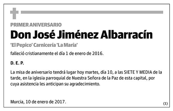 José Jiménez Albarracín