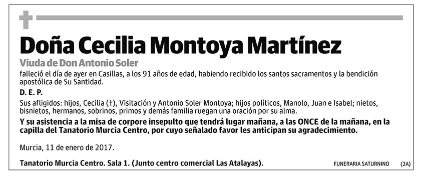 Cecilia Montoya Martínez