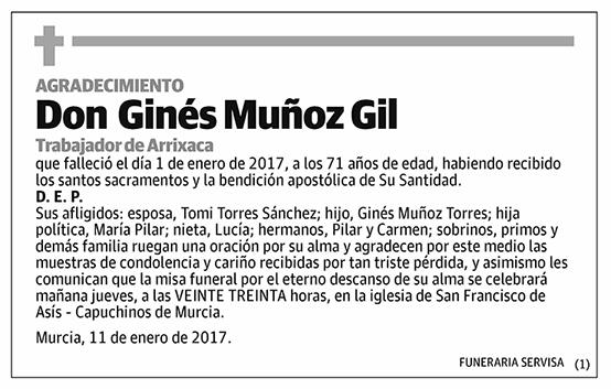 Ginés Muñoz Gil