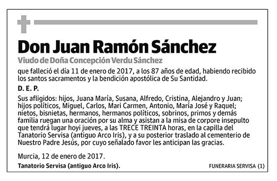 Juan Ramón Sánchez