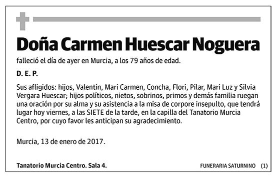 Carmen Huescar Noguera