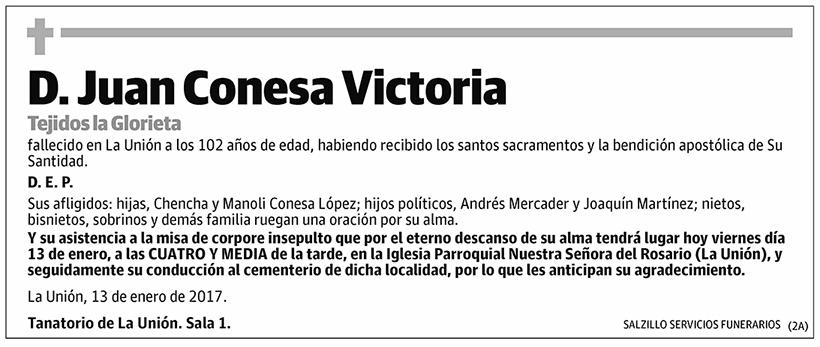 Juan Conesa Victoria