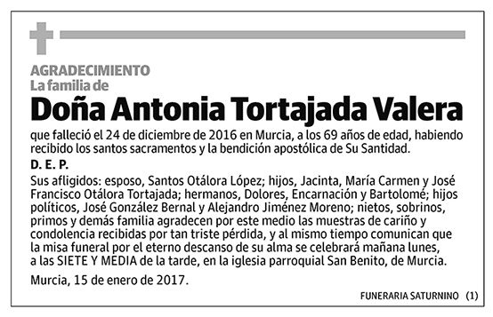 Antonia Tortajada Valera