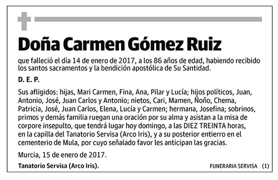 Carmen Gómez Ruiz