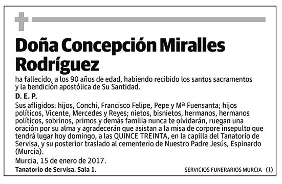 Concepción Miralles Rodríguez