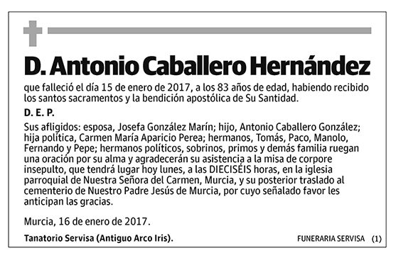 Antonio Caballero Hernández