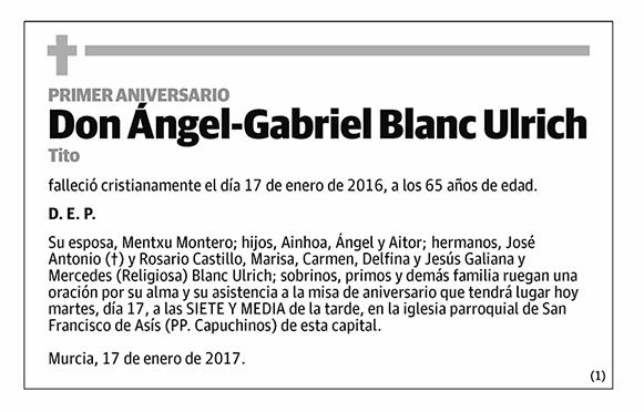 Ángel-Gabriel Blanc Ulrich