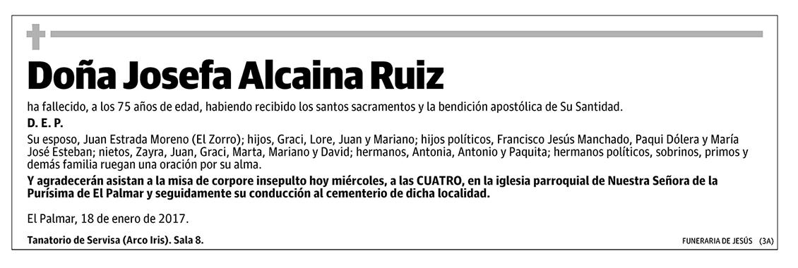 Josefa Alcaina Ruiz