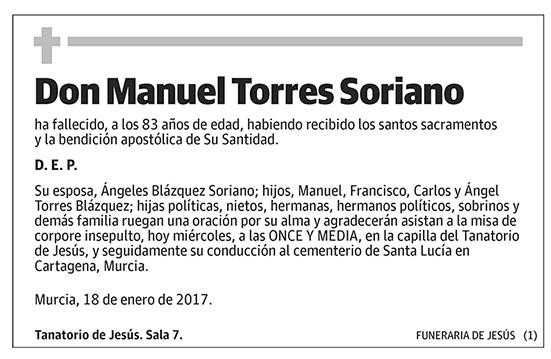 Manuel Torres Soriano