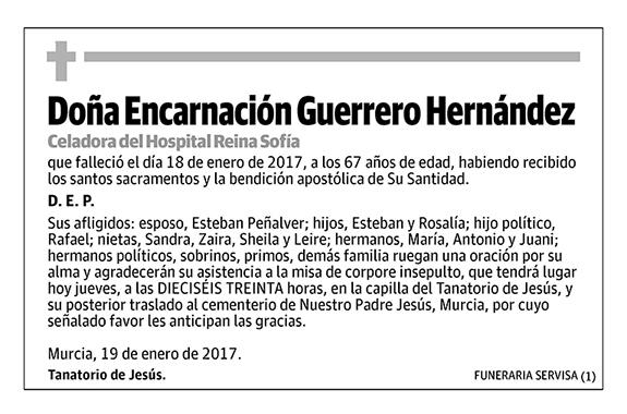 Encarnación Guerrero Hernández