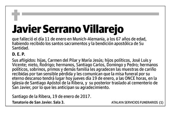 Javier Serrano Villarejo