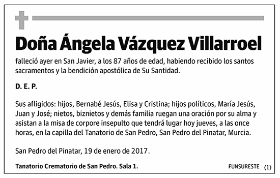 Ángela Vázquez Villaroel