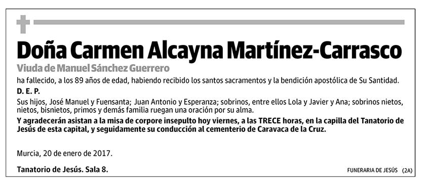 Carmen Alcayna Martínez-Carrasco