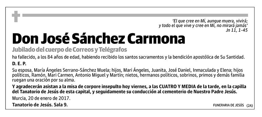 José Sánchez Carmona