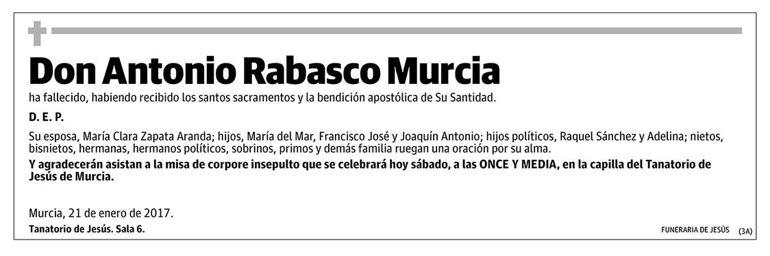 Antonio Rabasco Murcia