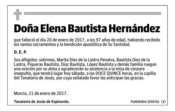 Elena Bautista Hernández