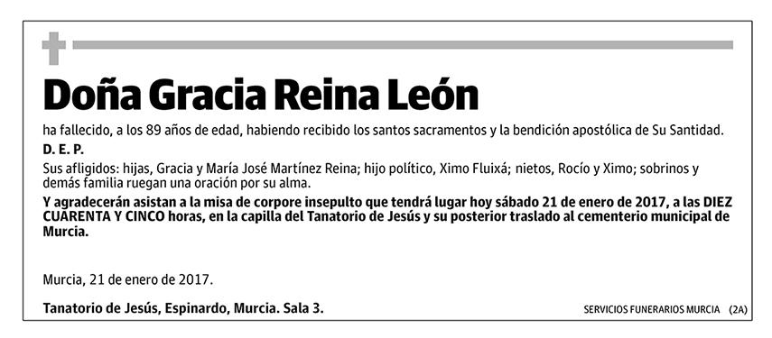 Gracia Reina León