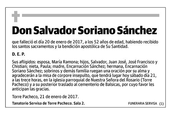 Salvador Soriano Sánchez