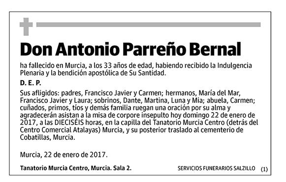 Antonio Parreño Bernal