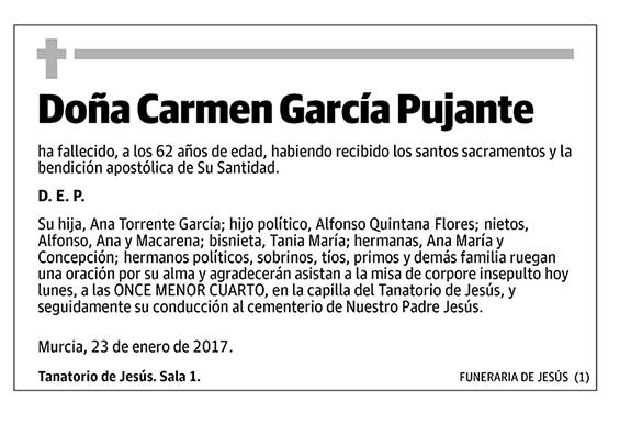 Carmen García Pujante