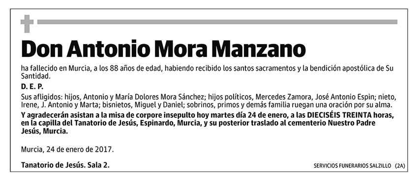 Antonio Mora Manzano