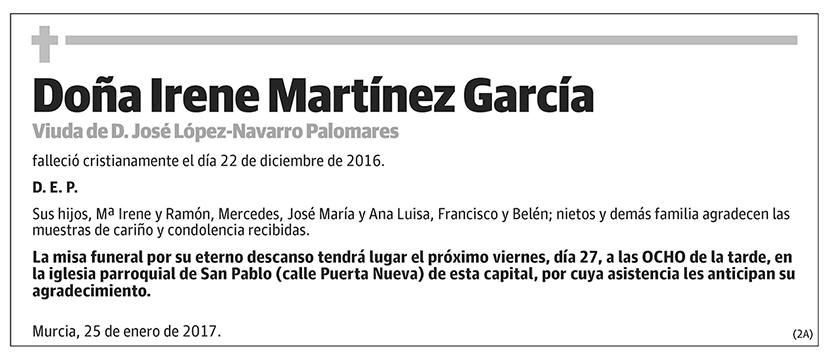 Irene Martínez García