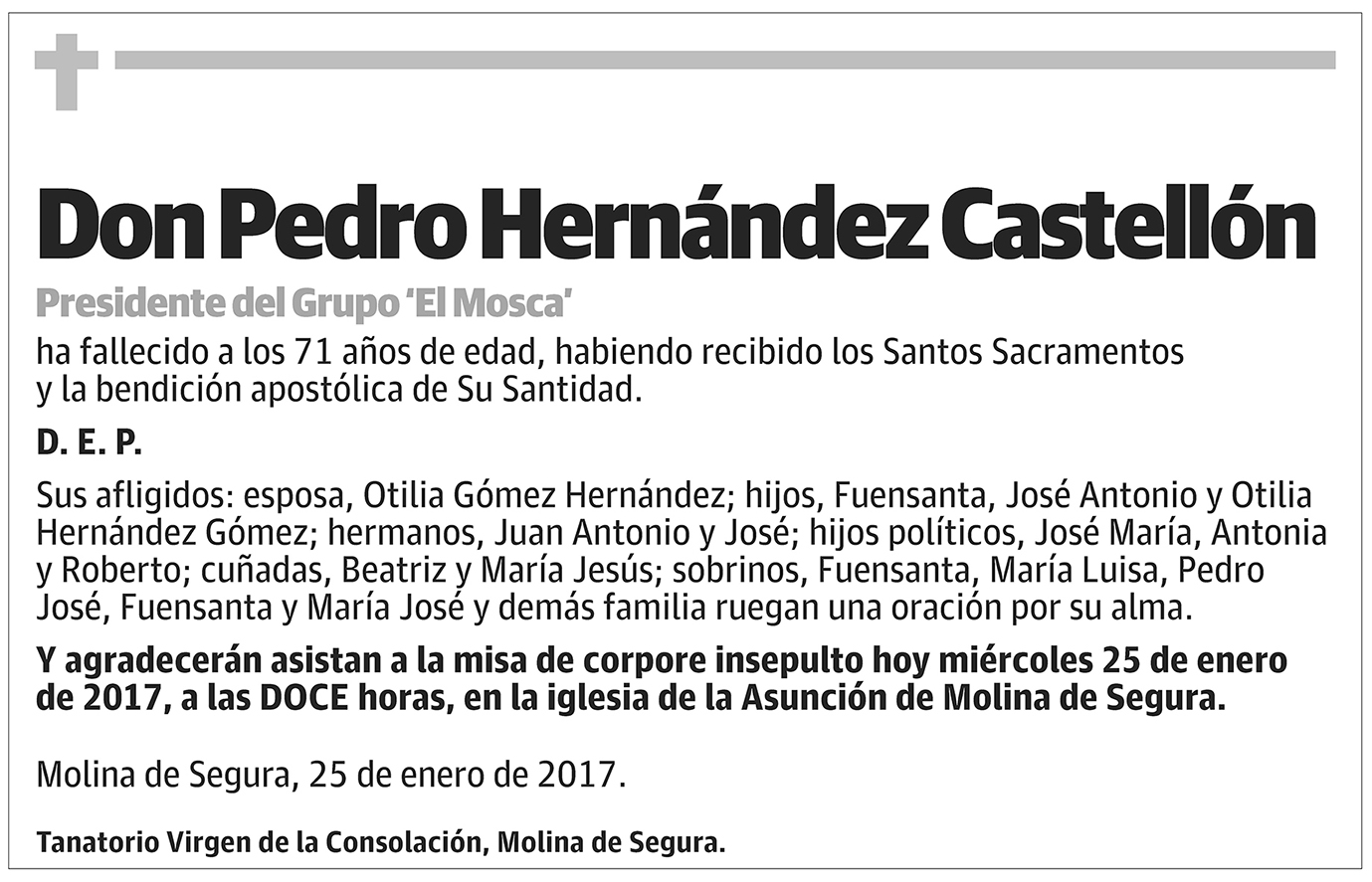 Pedro Hernández Castellón