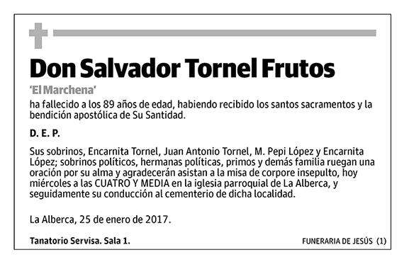 Salvador Tornel Frutos