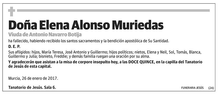 Elena Alonso Muriedas