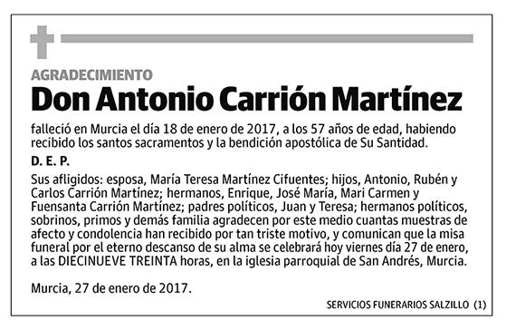 Antonio Carrión Martínez