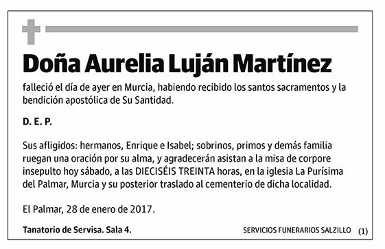 Aurelia Luján Martínez