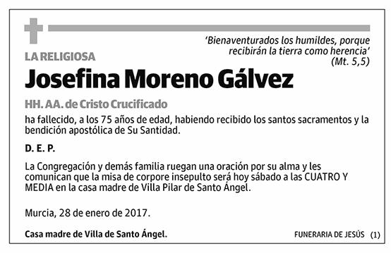 Josefina Moreno Gálvez