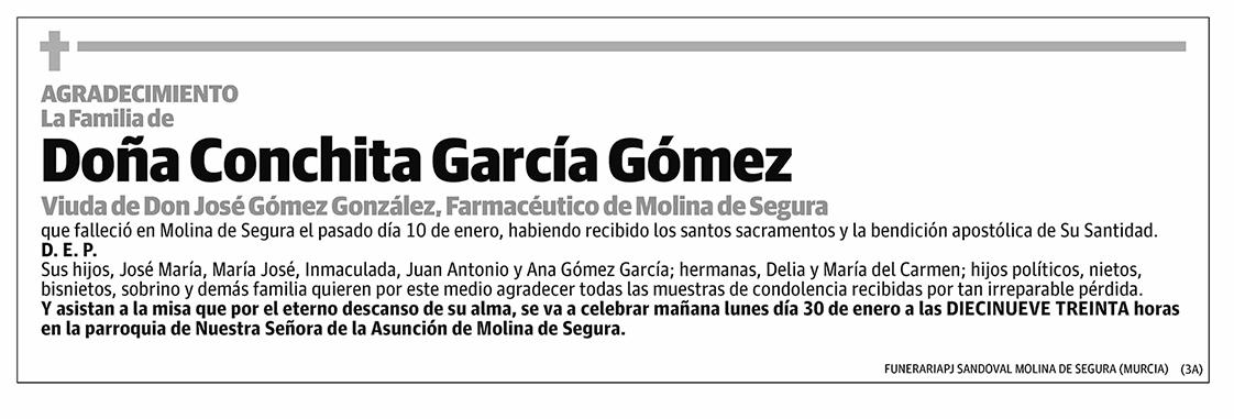 Conchita García Gómez