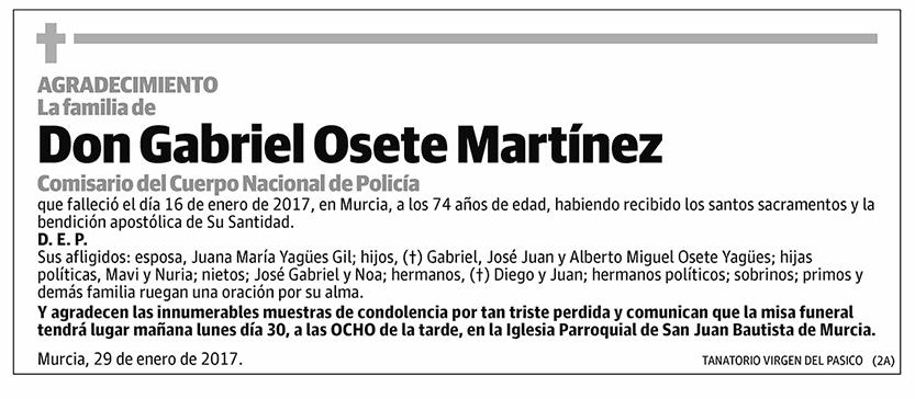 Gabriel Osete Martínez