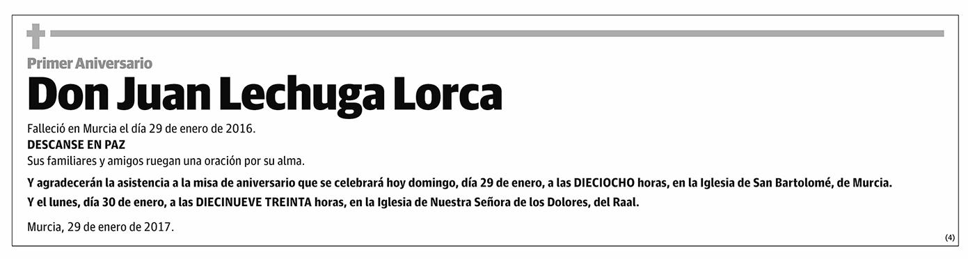 Juan Lechuga Lorca