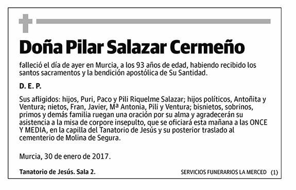 Pilar Salazar Cermeño