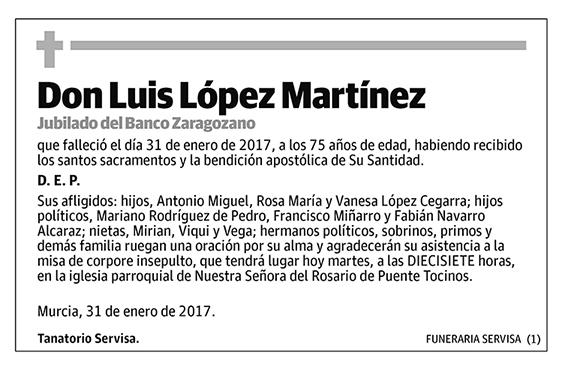 Luis López Martínez
