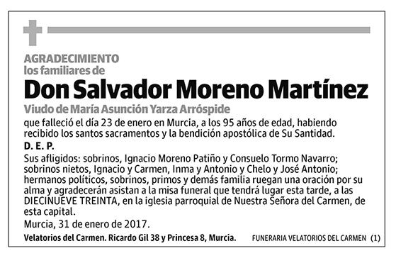Salvador Moreno Martínez