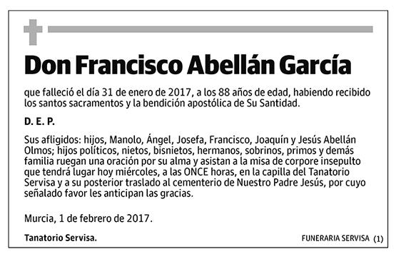 Francisco Abellán García