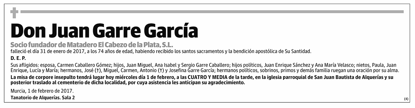 Juan Garre García