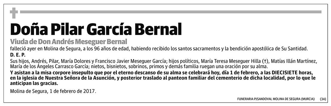 Pilar García Bernal
