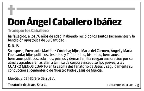 Ángel Caballero Ibáñez