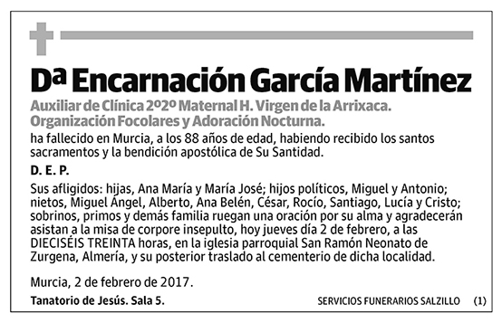 Encarnación García Martínez