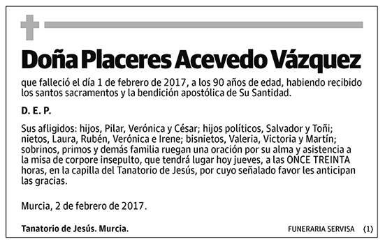 Placeres Acevedo Vázquez