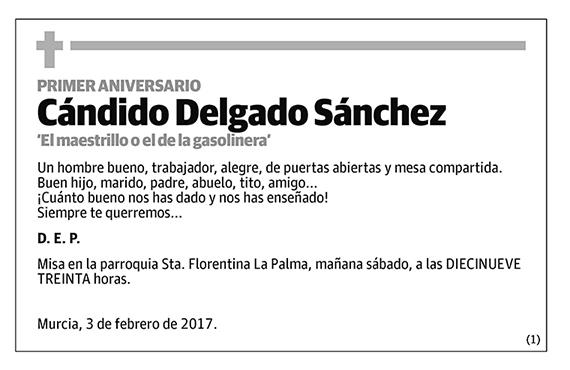Cándido Delgado Sánchez