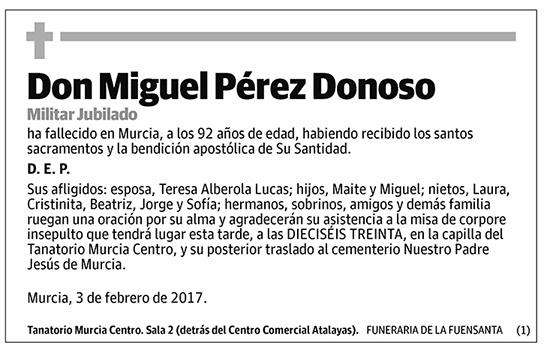 Miguel Pérez Donoso